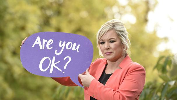 Health Minister Michelle O'Neill has set out plans in a