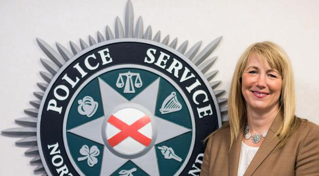 Detective Chief Superintendent Andrea McMullan, who leads the fight against drugs and organised crime