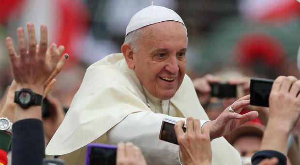 Pope Francis will visit Ireland in August 2018