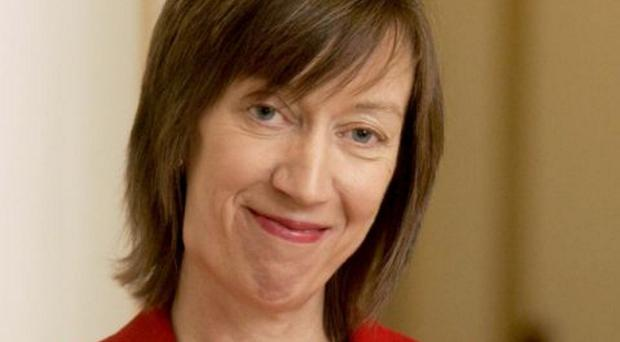 'Unacceptable': Dr Evelyn Collins, chief executive of the Equality Commission, will present findings of watchdog's report today