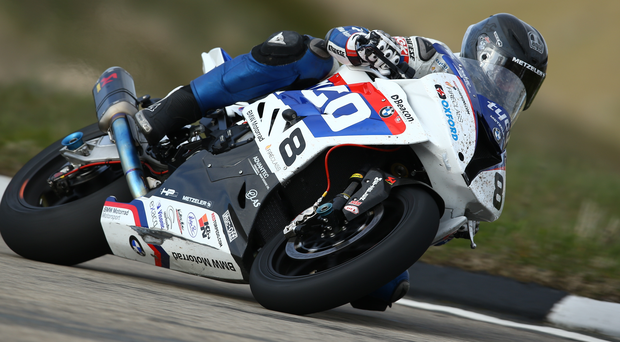 Guy Martin on the S1000RR Superbike