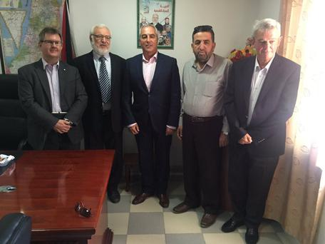 DUP's Jeffrey Donaldson meeting with members of Hamas in August