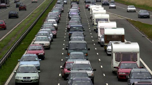 The estimated cost to drivers of hours wasted in queues was calculated using figures from a Department for Transport-commissioned report