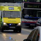 Only the Welsh Ambulance Service is meeting the eight-minute target to reach patients with life-threatening conditions, the investigation found