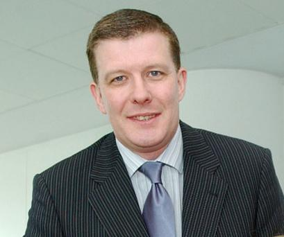 Conor Patterson, chief executive of the Newry and Mourne Co-operative and Enterprise Agency.