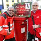Liam O'Keefe, our oldest postman, and Raymond Black, our longest serving onecards