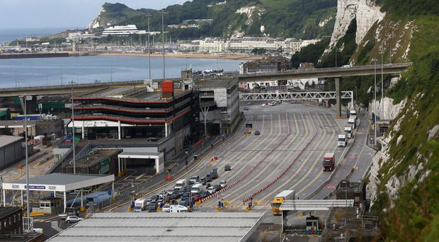 Traffic at the Port of Dover