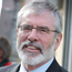 Under attack: Gerry Adams