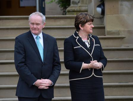 The First and Deputy First Minister hope to develop links to the world's second largest economy