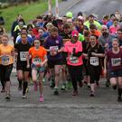 Participants in the Belfast Telegraph Run Forest Run event in Loughgall