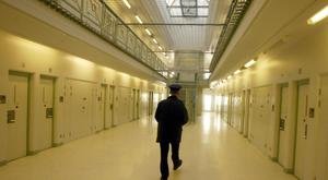 Inside Maghaberry prison in Co Antrim.