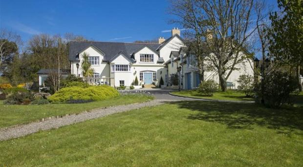 An example of a one million pound-plus private home currently on the market.