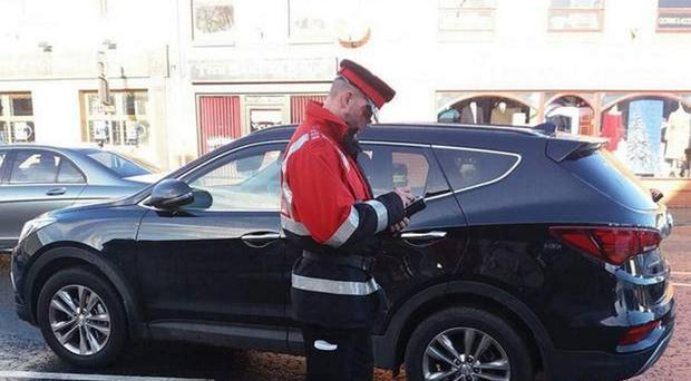 Traffic wardens are a rare sight in Coalisland