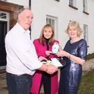 Rural Development Minister Michelle McIlveen as she helps officially open the Rathlin Manor Guest Inn (DAERA/PA)