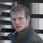 Convicted livestock rustler Christopher Potts outside court