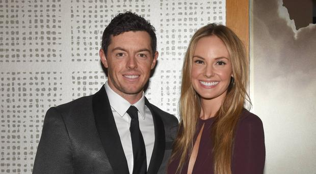 Rory McIlroy and fiancee Erica Stoll