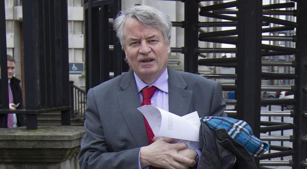 Les Allamby, chief commissioner of the Northern Ireland Human Rights Commission