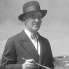 Belfast artist Paul Henry in 1933