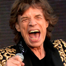 Double celebration: Sir Mick Jagger