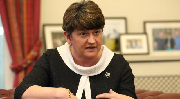 Northern Ireland First Minister Arlene Foster will be hoping for progress at the Stormont talks on Wednesday