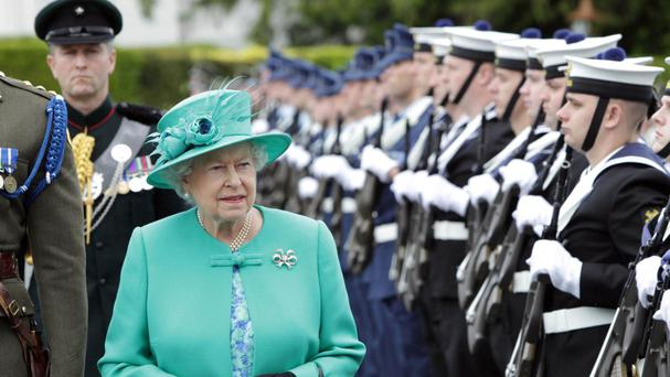 The Queen's historic visit to Ireland took place in 2011
