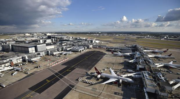 Heathrow is one of the 18 airports to be hit by strike action
