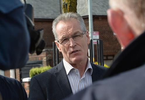 Gerry Kelly was assaulted in Belfast's Cathedral Quarter