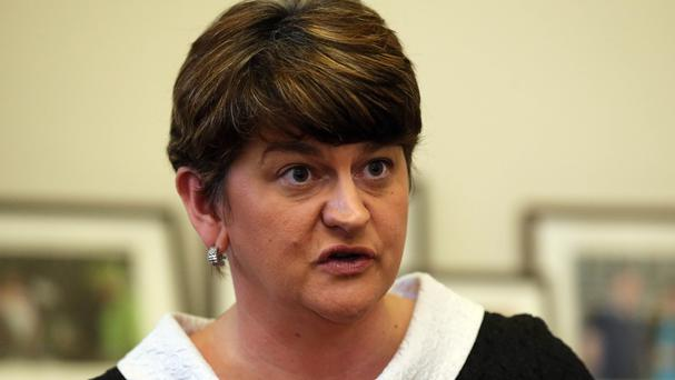 Arlene Foster denounced opposition parties as
