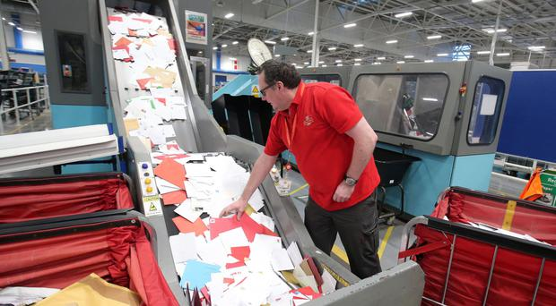 Northern Ireland is to be hit by a wave of disruption as strikes will see post offices shut and airports without baggage handlers in the run-up to Christmas. File image