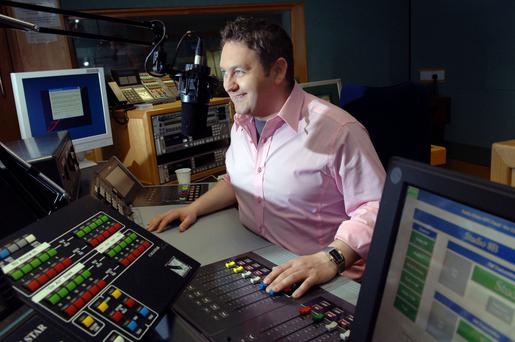 BBC broadcaster William Crawley apologised and quickly cut the caller off.