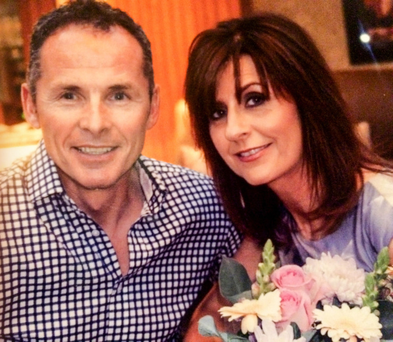 David McClean with his wife Dawn
