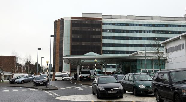 Five wards were closed at Altnagelvin Hospital