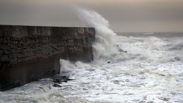 Forecasters have warned of winds of up to 90mph in the coming days, similar to the winds that hit Newhaven in East Sussex with Storm Angus last month