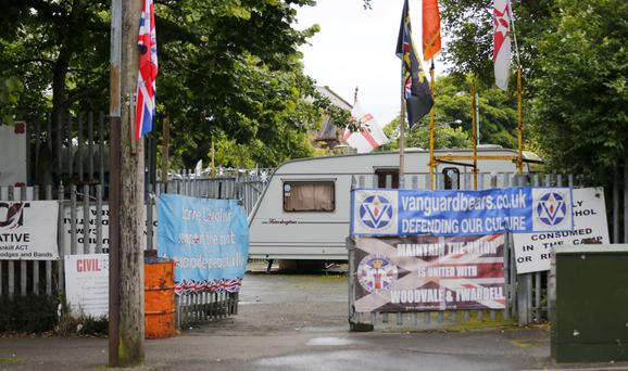 In September permission was given for Orange Order lodges to march past the Ardoyne shops in north Belfast - ending a long-running dispute