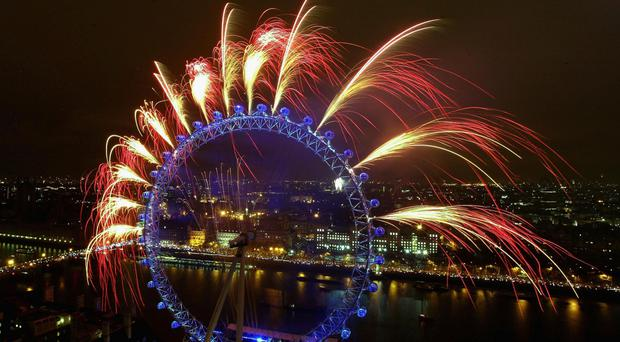 London: How other UK cities marked the arrival of 2016