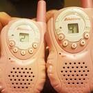The walkie talkies used by the youngsters