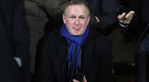 Michael O'Neill was awarded an MBE for services to football and the community