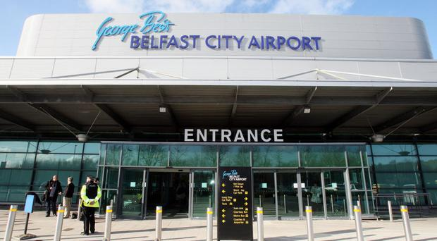 Infrastructure minister Chris Hazzard has backed proposals for restrictions on seat sales at George Best Belfast City Airport to be removed