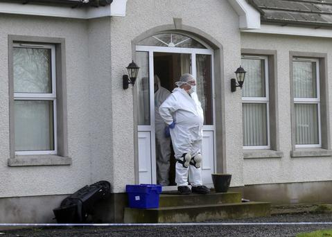 The house at Riverview Park in Ballymoney where Brian McIlhagga was murdered in January, 2015