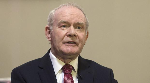 Martin McGuinness has vowed to step down as Deputy First Minister