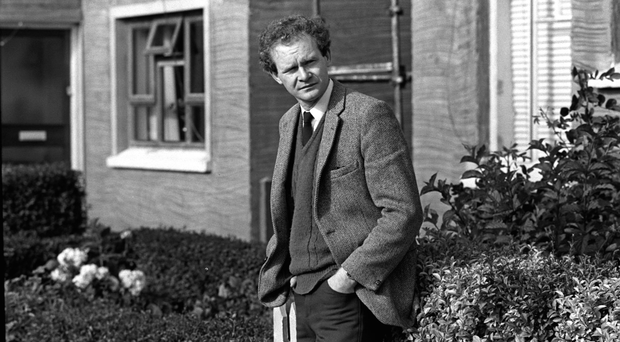Martin McGuinness pictured in Londonderry in 1985