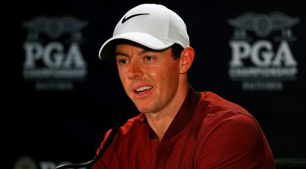 Rory McIlroy is determined to lead a balanced lifestyle