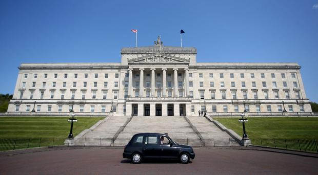 The statement came before the Stormont crisis