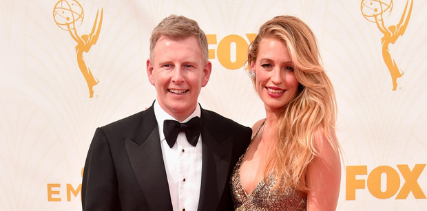 Patrick Kielty and wife Cat Deeley. Photo: Alberto E. Rodriguez/Getty Images for TNT LA