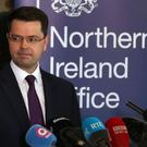 James Brokenshire says the future of powersharing in Northern Ireland is at stake
