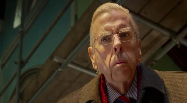Timothy Spall as Ian Paisley in The Journey, which is facing the prospect of a straight-to-DVD release