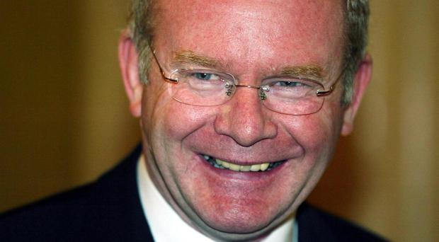 Sinn Fein's Martin McGuinness is stepping down from politics.