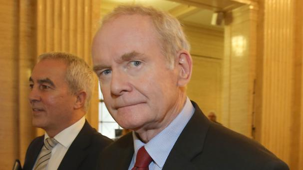 Political leaders pay tribute to Martin McGuinness