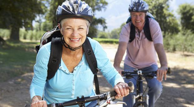 Healthy: Cycling is good for heart