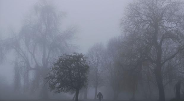 Fog is expected to add to the problems for travellers